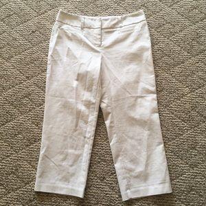 Apt. 9 Maxwell White Capri Pants 4